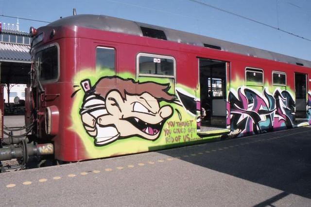 S-train at Klampenborg (1999)