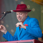 Mon, 22/06/2015 - 8:41pm - The Mavericks close the main stage Sunday 6/21/15 and live on WFUV Public Radio. Photo by Gus Philippas