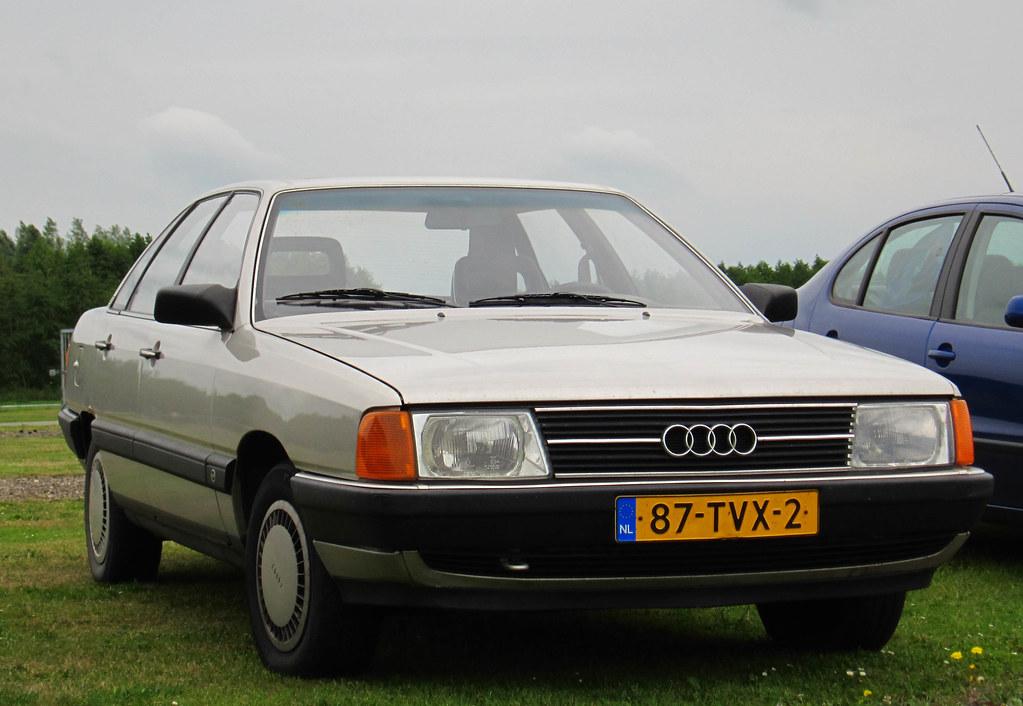 1985 Audi 100 1.8 (C3) | Place: Assen | Rutger van der Maar | Flickr