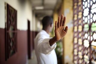 A portrait of an Ebola survivor, Dr. Modysidy | by World Bank Photo Collection