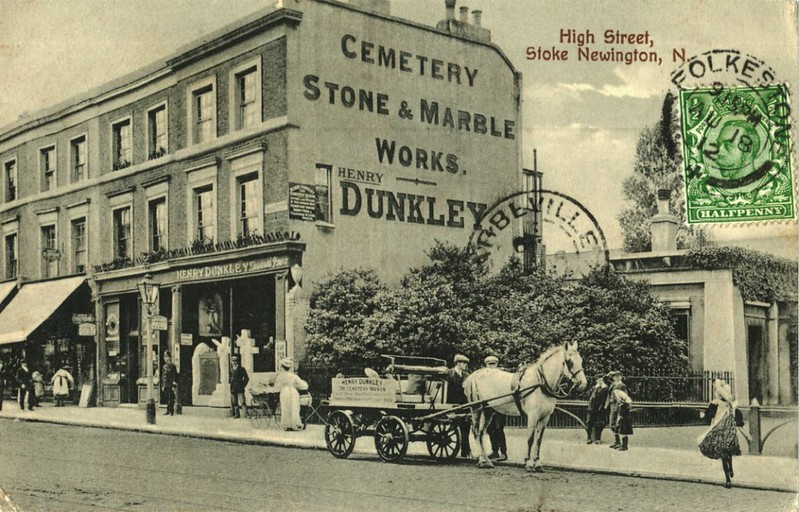 1912 - 211-17 Stoke Newington High St _ @AbneyParkN16 South Lodge