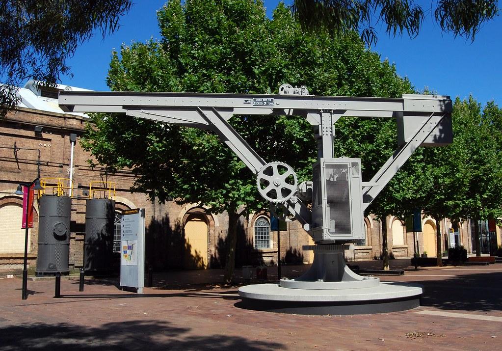 Ex Eveleigh Loco Depot, Eveleigh, Sydney, NSW.