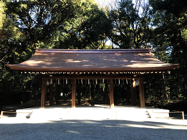 Courtyard in Meiji Shrine
