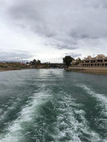 lakehavasu havasu arizona usa beauty water boat sailing clouds