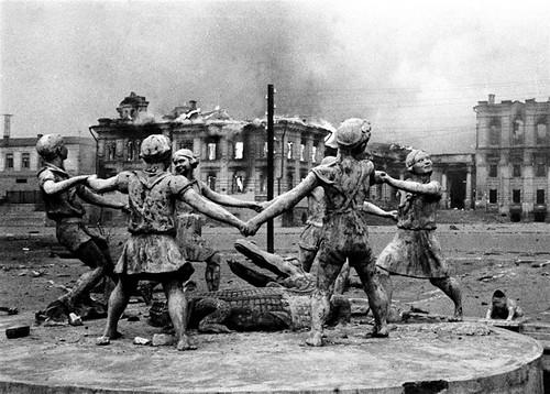 estatua Stalingrado 1942