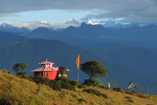 bâtiment montagnes nepal préci pattale solukhumbu temple