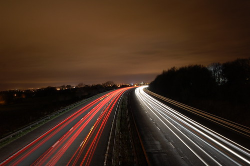 Motorway at night | by papanooms