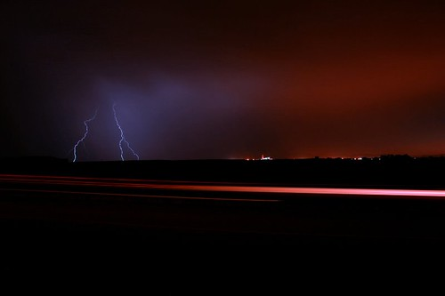 Blue Lightning   by Tom Herlyck