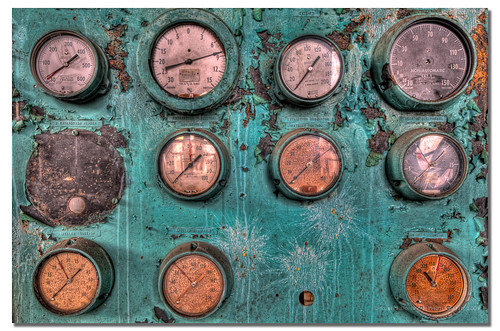 Gauge Splat | by Robert Donovan