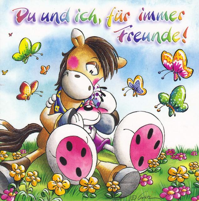 Diddl Friendship Postcard