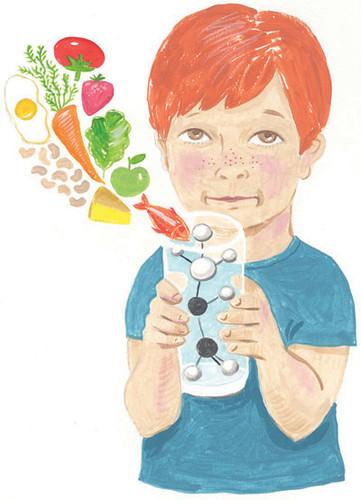 boy with oesophagitis & amino acid drink | by Sandra Eterovic