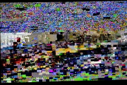 hotel tv glitch | by dear computer