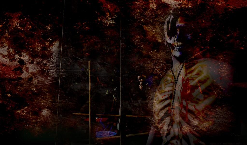 Voodoo Zombie Priest 3 | Voodoo entry taken @ Dark Knight Vi… | Flickr