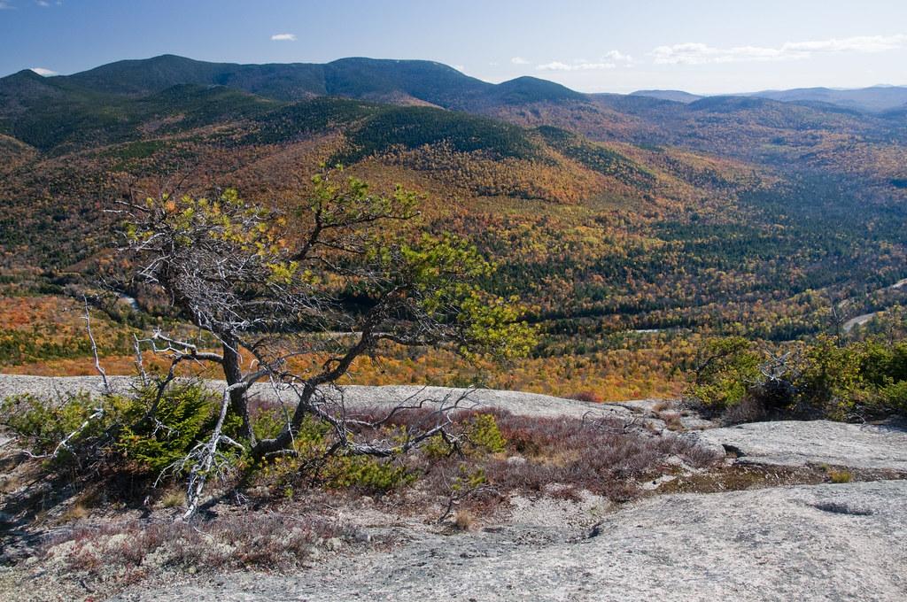 View of White Mountain New Hampshire