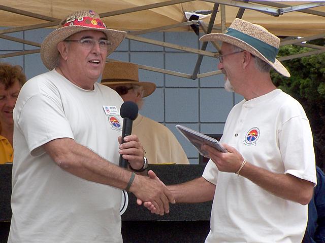 (L) Bill Guzman, (R) Dave Wellwood