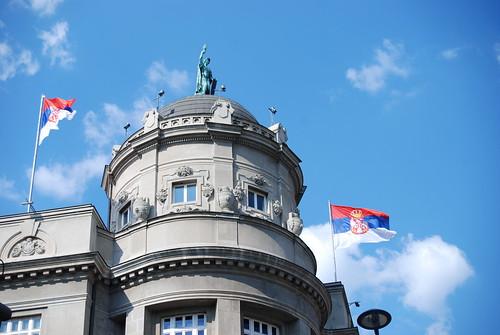 Beograd, zgrada Zeleznice | by George M. Groutas