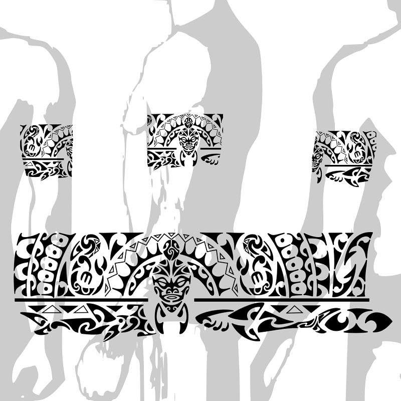 Tattoo Maori Bracelete Polinésia Kirituhi A Photo On