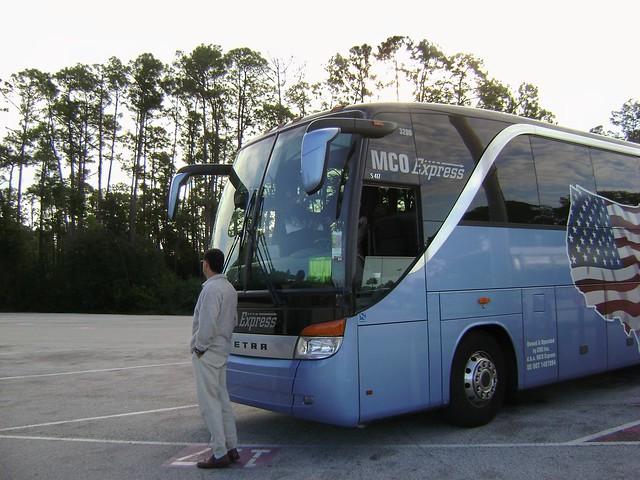 Magic Kingdom parking, WDW '09 - www.meEncantaViajar.com