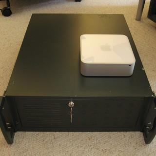 Mac mini & Linux Rack | by -MikeyP-