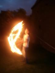 Graham Juggling Fire