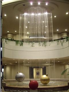 Tower Center Hilton Waterfall