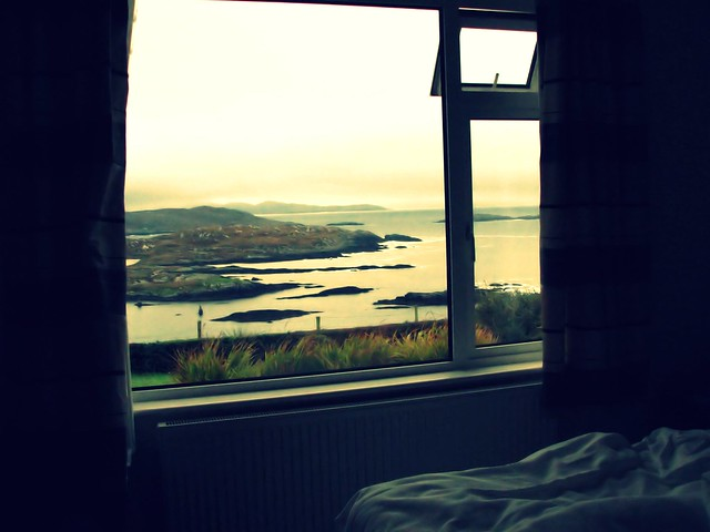 morning view at the ring of kerry