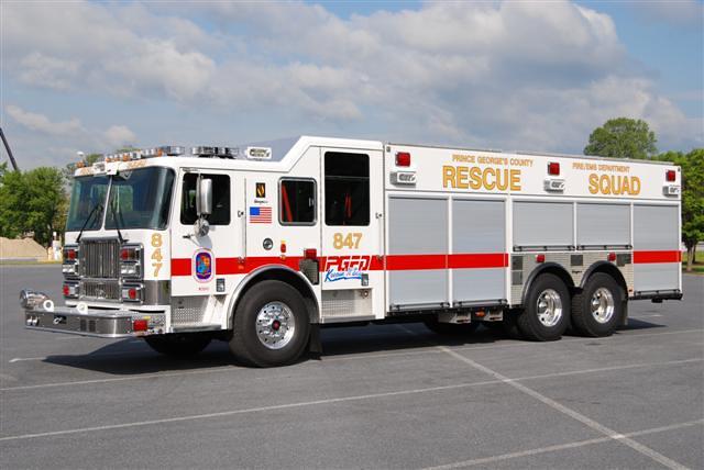 PGFD Rescue Squad 847