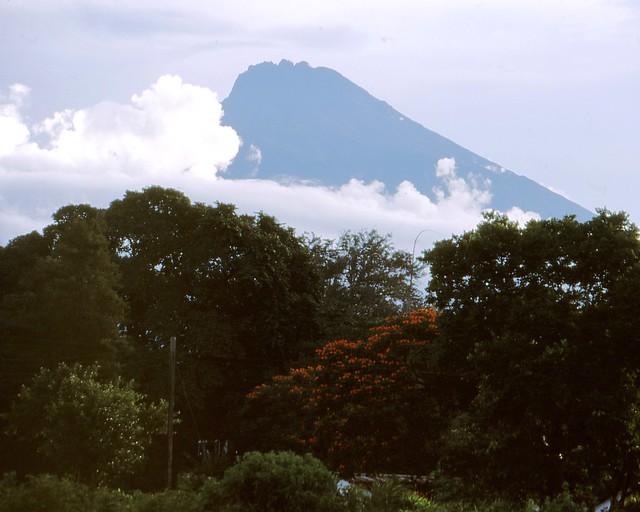 Tansania- Arusha - Mount Meru