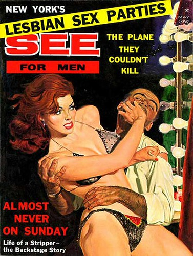 See For Men Magazine, Cover Art - 1962 May