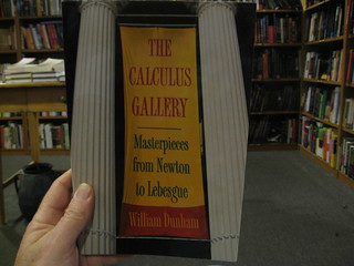Masterpieces from Newton to Lebesgue The Calculus Gallery