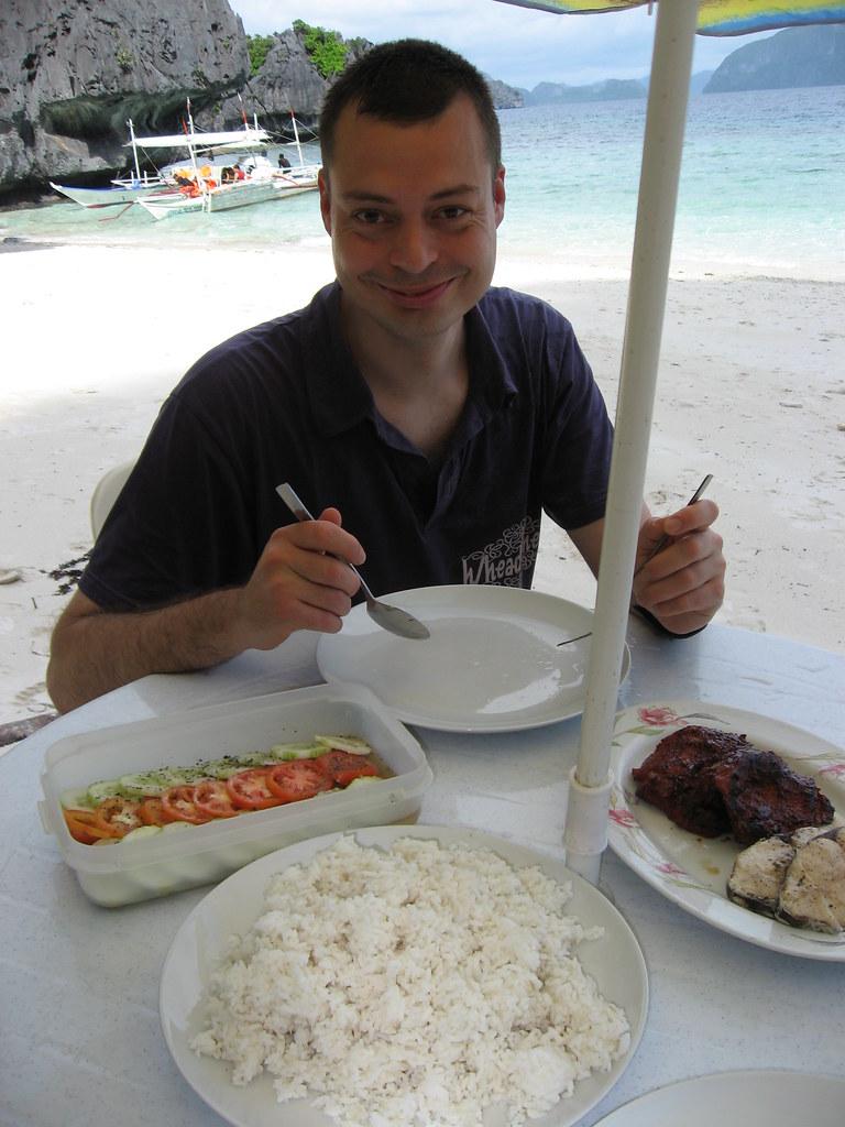 Dining in El Nido