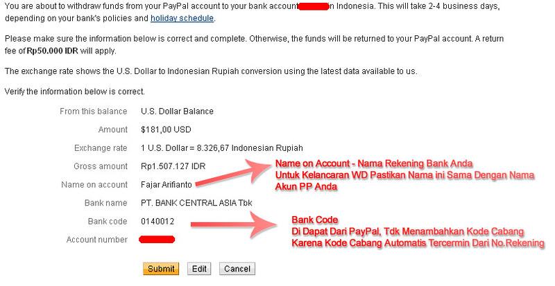 Withdraw Paypal Ke Bca Withdraw Paypal Ke Bca Keterangan A Flickr