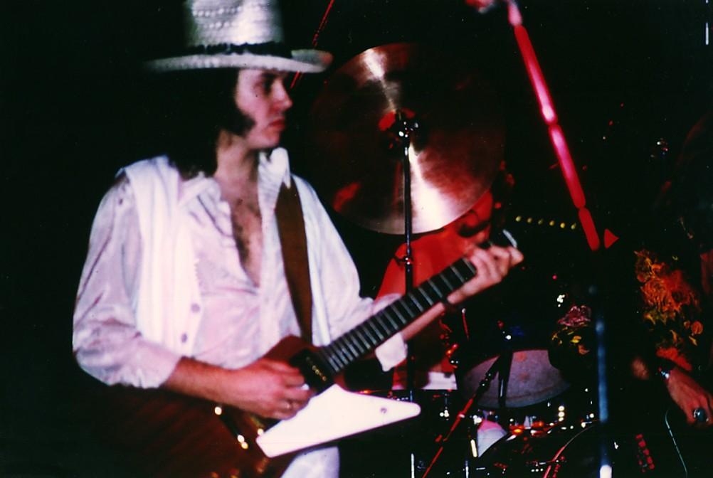 1977 - Drew Abbott , lead guitar, vocals | Klaus Hiltscher | Flickr