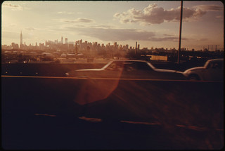 Midtown Skyline of New York City Seen From Queens ... 08/1974
