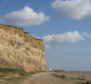 Little Galley Hill Cliff.   by Phil Sellens