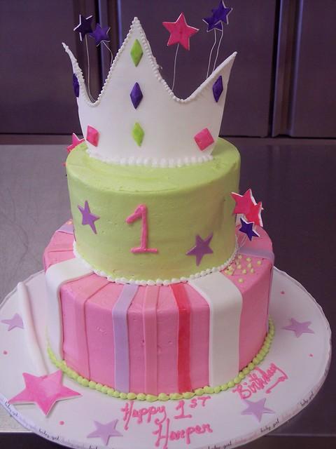 Princess Cake: Ist Birthday Wilmington, NC Carolina Cakes & Confections