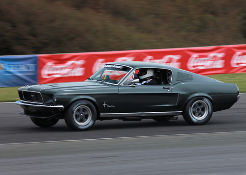1968 Mustang on track | by lclutchl