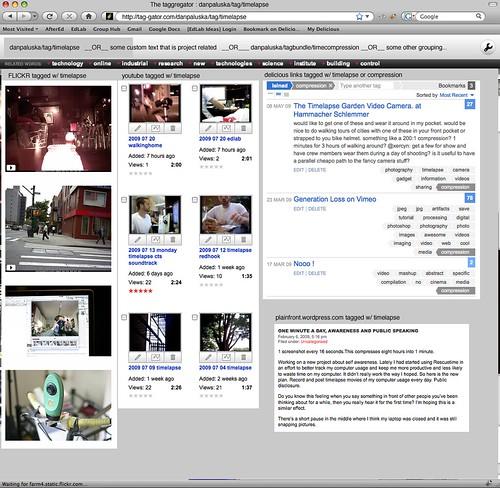 ... taggregator sample webpage - by Inha Leex Hale