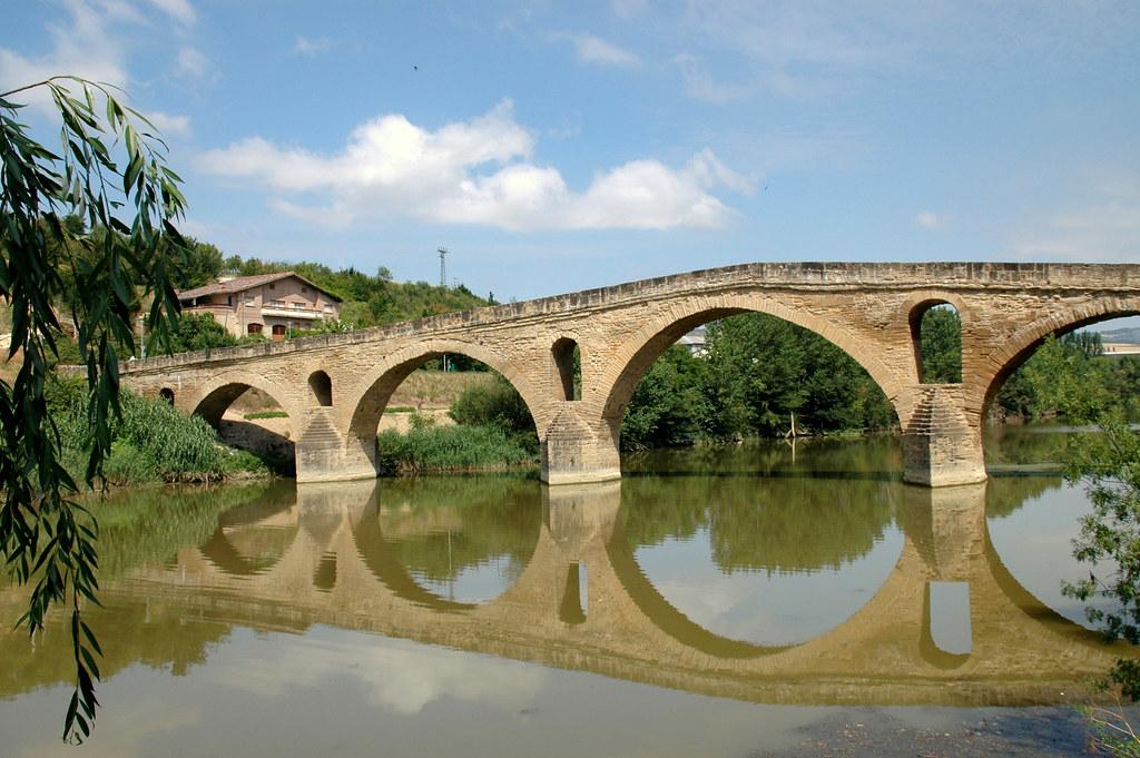 El puente de Puente la Reina