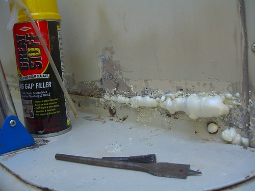 gap filler and tools