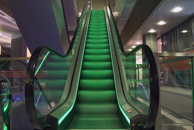 Escalator green