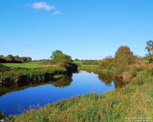 blue ireland wallpaper reflection green river cavan ulster wallpaper43