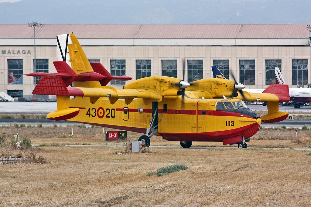 43.20 Canadair CL-215-6B11 CL-215T Spanish Air Force AGP 11-09-09