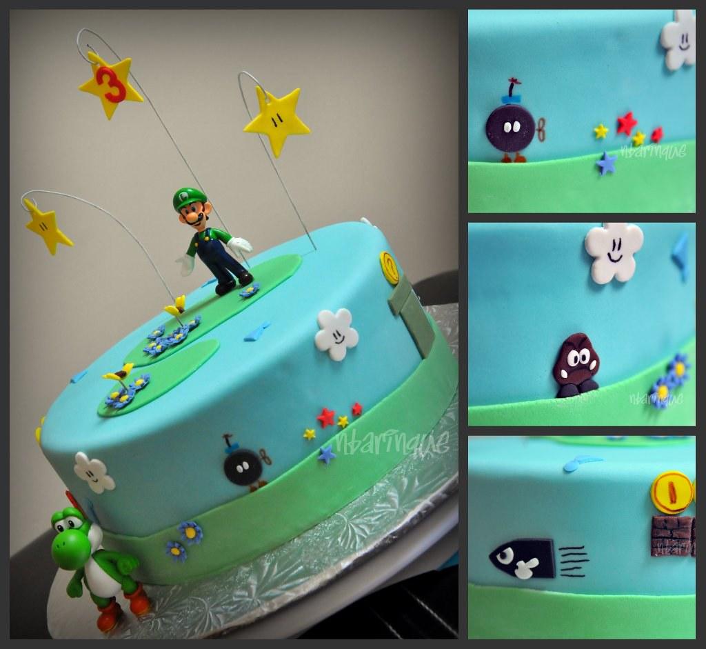 Luigi Cake