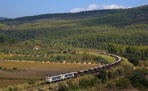 train tren foto railway via freight mitsubishi sal vía teco manresa renfe saler flix salero erkimia 269 adif ffcc melco mercancías mercaderies teifer 269756