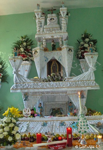 Altar día de Muertos Huaquechula, Puebla - México - day of the dead