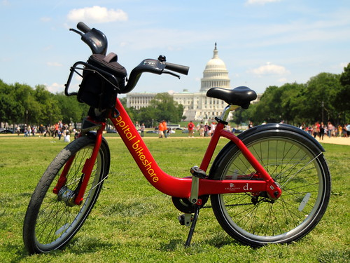 Capital Bikeshare on the Mall | by Mr.TinDC