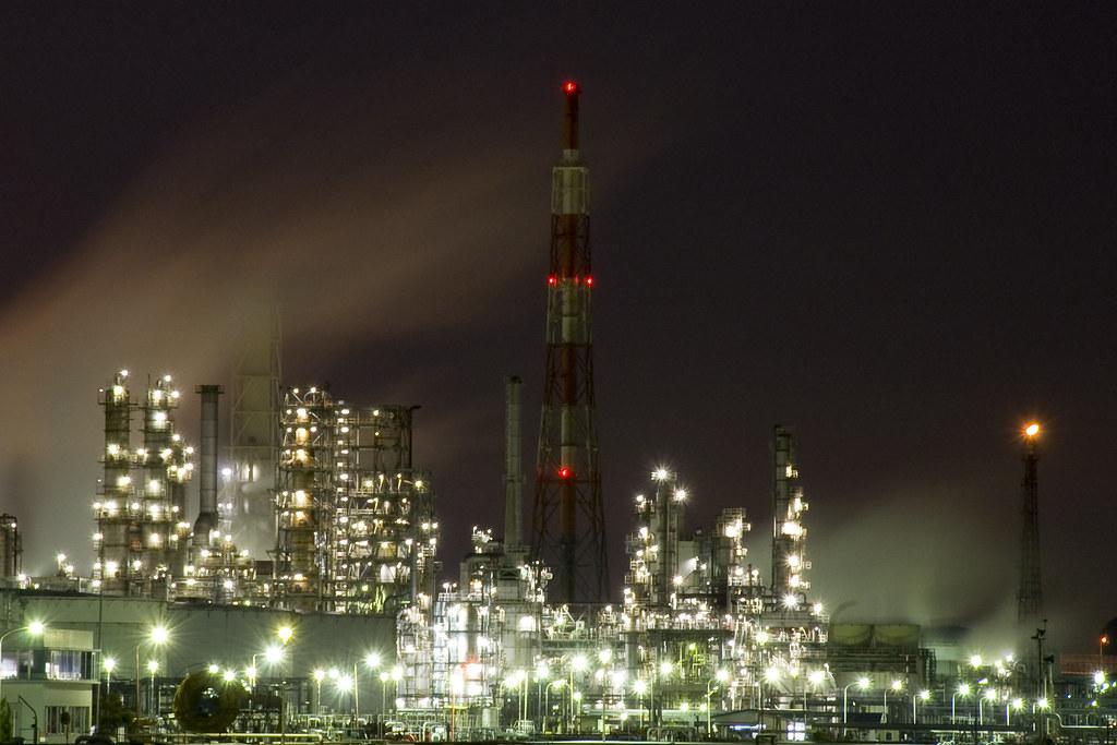 工場 横浜根岸・磯子 / 新磯子町 / 新日本石油精製根岸精油所   totoon ...
