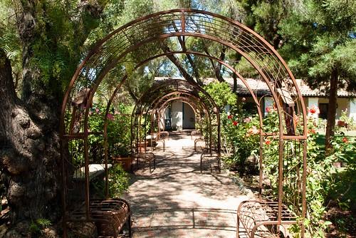 Mission San Juan Bautista Garden