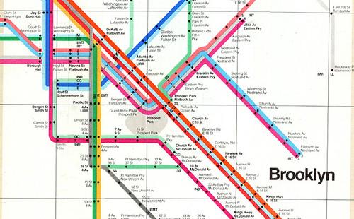 Brooklyn Subway Map.Brooklyn Subway Map Megan Hansen Flickr